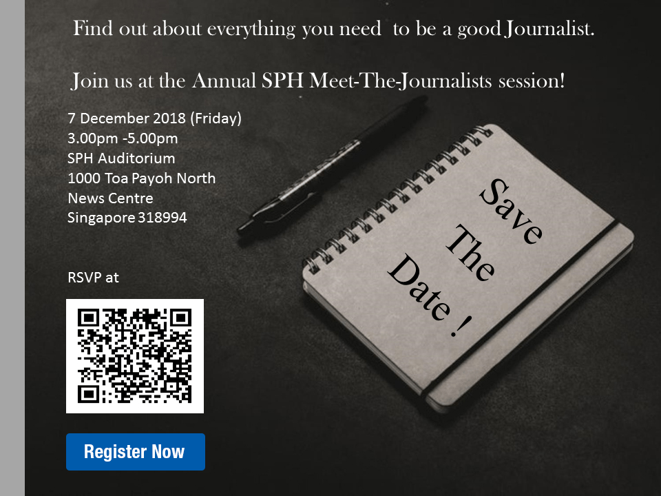 SPH Meet The Journalists Session