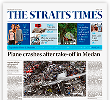 The Straits Times Key Strength Is In Its World Class Coverage Of News Outside Singapore With  Bureaus In Major Cities Around The World